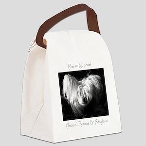 kiwi bw CP calamity  Canvas Lunch Bag