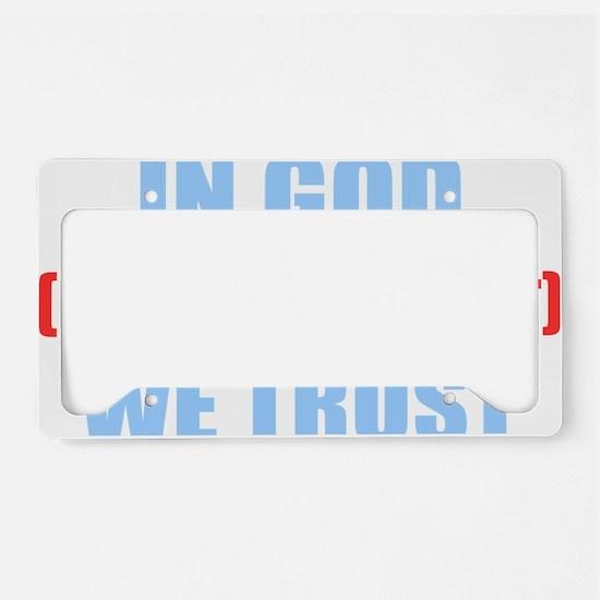 In-God-Not-Gov-(dark-shirt) License Plate Holder