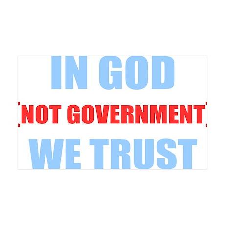 In-God-Not-Gov-(dark-shirt) 35x21 Wall Decal