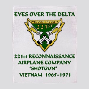 Eyes-Over-The-Delta Throw Blanket