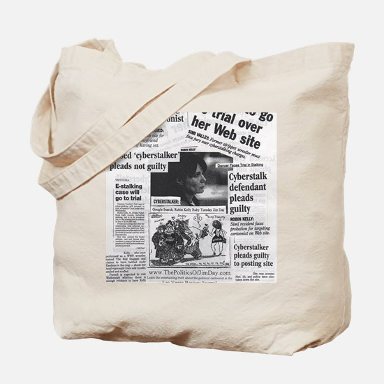 Cyberstalker Tote Bag