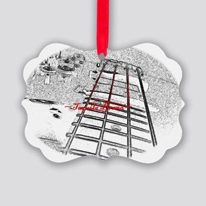 bass-guitar Picture Ornament