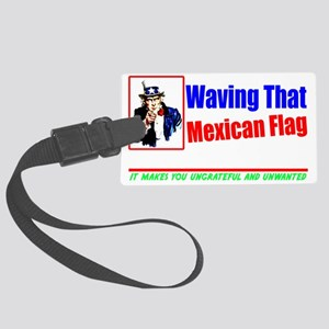 mexdarknew2 Large Luggage Tag