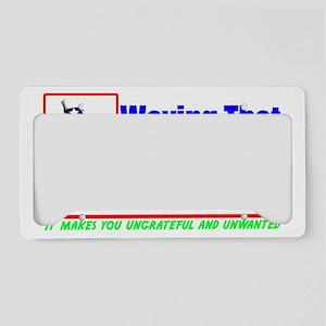 mexdarknew2 License Plate Holder