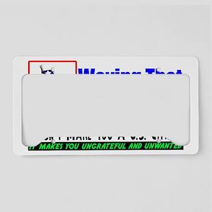 mex3 License Plate Holder