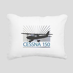Aircraft Cessna 150 Rectangular Canvas Pillow