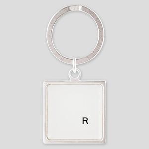 3-Stick It Square Keychain