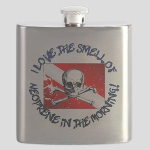 Neoprene_Skull_-_M Flask