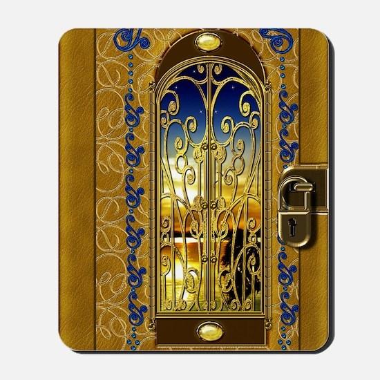 2-golden-sky-book Mousepad
