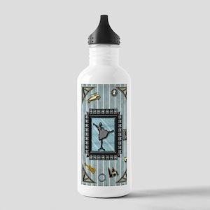2-ParisDancer Stainless Water Bottle 1.0L