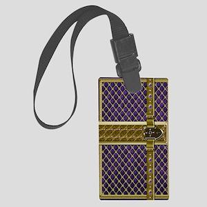 2-fairytale-purple Large Luggage Tag