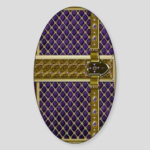 2-fairytale-purple Sticker (Oval)