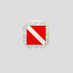 Eat_Sleep_Dive_2-M Mini Button