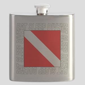 Eat_Sleep_Dive_2-M Flask