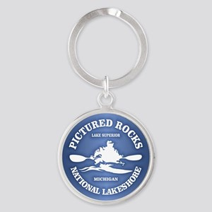 Pictured Rocks (rd) Keychains