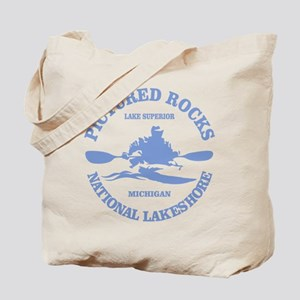 Pictured Rocks (rd) Tote Bag
