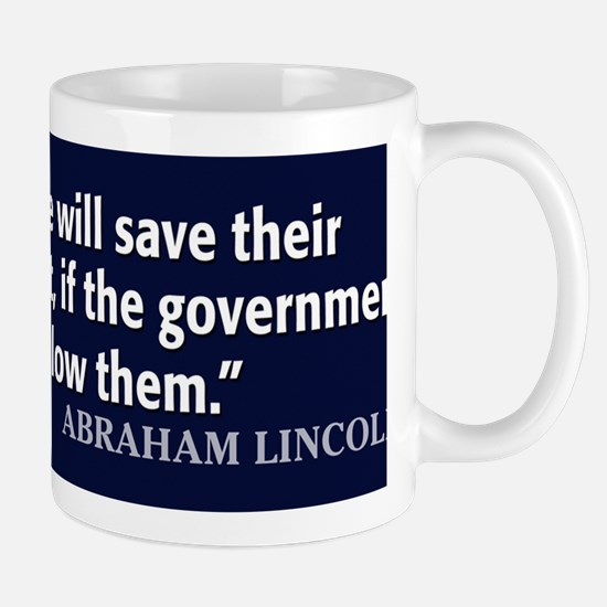 Lincoln Quote Government Mug