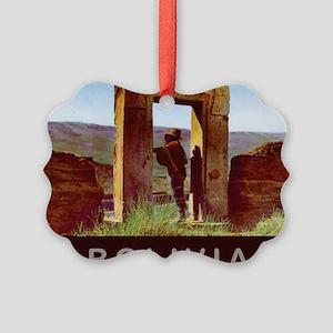 Bolivia9 Picture Ornament