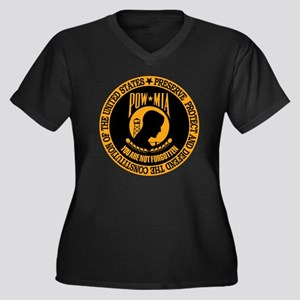You Are Not  Women's Plus Size Dark V-Neck T-Shirt