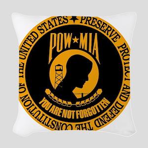 You Are Not Forgotton Woven Throw Pillow