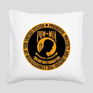 You Are Not Forgotton Square Canvas Pillow