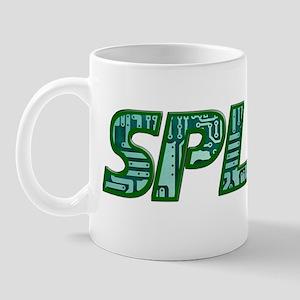 SPLAT LOGO circuit GREENTransp Mug