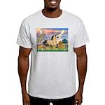 Cloud Star & Buckskin horse Ash Grey T-Shirt