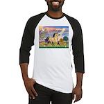 Cloud Star & Buckskin horse Baseball Jersey