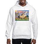 Cloud Star & Buckskin horse Hooded Sweatshirt