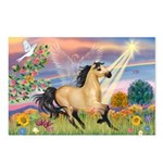 Cloud Star & Buckskin horse Postcards (Package of