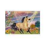 Cloud Star & Buckskin horse Rectangle Magnet