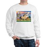 Cloud Star & Buckskin horse Sweatshirt