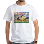 Cloud Star & Buckskin horse White T-Shirt