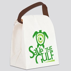 Save-the-Gulf Canvas Lunch Bag