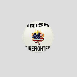 Irish Firefighter Mini Button