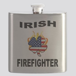 Irish Firefighter Flask