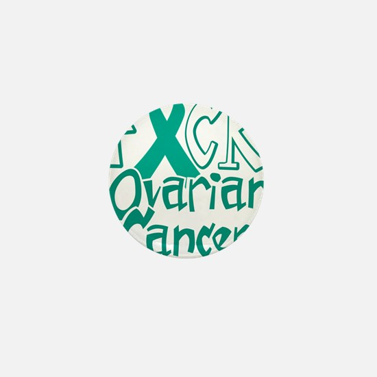 Fuck-Ovarian-Cancer-blk Mini Button