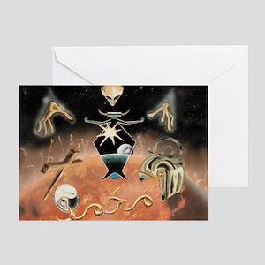 coming Greeting Card