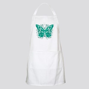 Ovarian-Cancer-Butterfly-blk Apron
