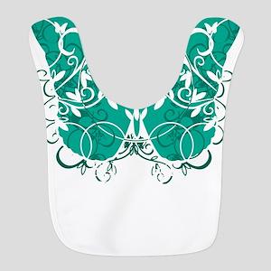 Ovarian-Cancer-Butterfly-blk Bib