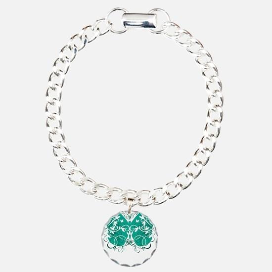 Ovarian-Cancer-Butterfly Bracelet