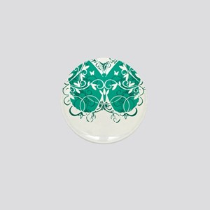 Ovarian-Cancer-Butterfly-blk Mini Button