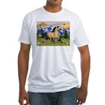 Mt. Country Buckskin Horse Fitted T-Shirt