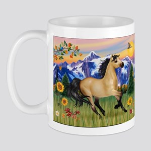 Mt. Country Buckskin Horse Mug