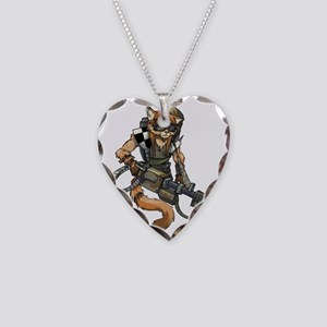 Rens anthro by Kardalak Necklace Heart Charm