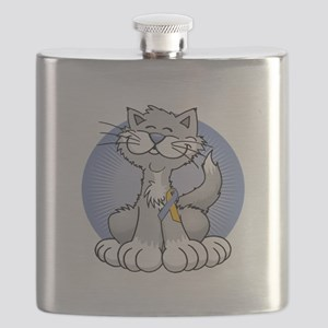 Paws-for-Psoriasis-blk Flask