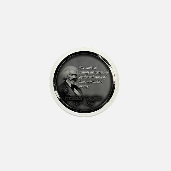 fred d quote  Mini Button
