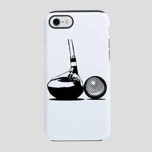Golf Club and Golf Ball iPhone 7 Tough Case