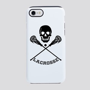 Skull and Lacrosse Sticks iPhone 7 Tough Case