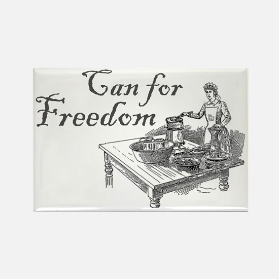 can for freedom Rectangle Magnet